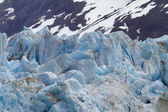 Packed glacier ice — Stock Photo