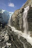 Worthington glacier — Stock Photo