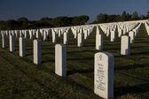 Cemitério nacional de rosecrans fort — Foto Stock