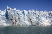 Wall of ice - Perito Moreno — Stock Photo