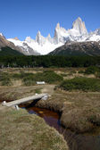Trail to Torres del Paine — Stock Photo