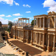 The Roman Theatre of Mérida - Stock Photo