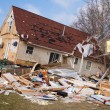 Постер, плакат: Tornado aftermath in Lapeer MI