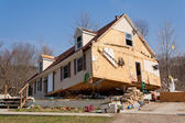 Tornado nasleep in lapeer, mi. — Stockfoto