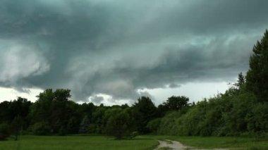 Tornado produzieren Sturm-Zeitraffer — Stockvideo