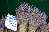 Dried lavender at the market — Zdjęcie stockowe