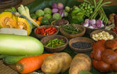 Set of ingredients for Thai cooking — Stock Photo
