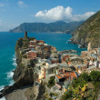 Amazing Vernazza village in Cinque Terre, Italy - Stock Photo