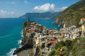 Incroyable village de vernazza cinque terre, Italie — Photo