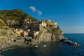 Manarola fishing village in Cinque Terre, Italy — Stock Photo