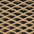Stock Photo: Background of metal grating