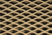 Background of metal grating — Stock Photo