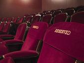 Places de théâtre réservé — Photo