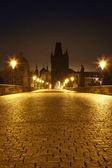 Prag charles bridge — Stock Photo