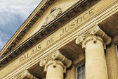 Facade of french Court House — Stock Photo