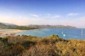 Porto Giunco beach panorama at Villasimius — Stock Photo