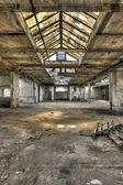 Old empty warehouse — Stock Photo