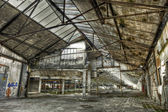 Old empty warehouse — Stock Photo