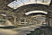 Velho armazém vazio — Foto Stock