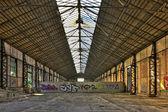 Vecchio magazzino vuoto — Foto Stock