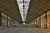 古い空の倉庫 — ストック写真