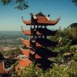 Buddhism temple of the most beautiful — 图库照片