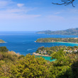 Kata and Karon beach Viewpoint — Stock Photo