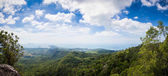Tub Kaek Nak Hill Nature Trail viewpoint. Panorama of Krabi — Stock Photo
