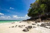 Tropical beach on Tub Island — Stock Photo