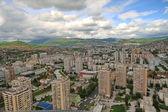 SARAJEVO, Panoramic view from Bosmal building on June 22, 2012 — Stock Photo