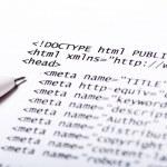 HTML-код — Стоковое фото #13220195