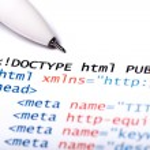 codice HTML — Foto Stock