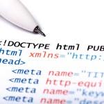 HTML-код — Стоковое фото #13220210