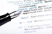 CSharp Code — Stock Photo