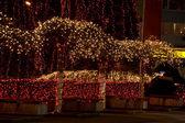 Weihnachtsbeleuchtung — Stockfoto
