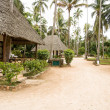 Stock Photo: Bungalow resort in Zanzibar