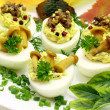 Stock Photo: Stuffed eggs