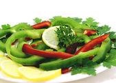 Variedad de frutas y verduras — Foto de Stock