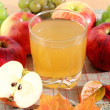 Stock Photo: Apple juice