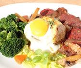 A hearty breakfast — Stock Photo