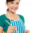 Woman cooking — Stock Photo #11056987