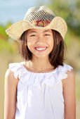 Retrato de niña — Foto de Stock
