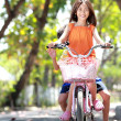 Riding bike — Stock Photo