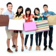 Group of shopping — Foto de stock #13661622