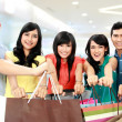 Group of shopping — Stock Photo #13661684