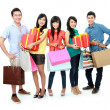 Group of shopping — Stockfoto