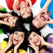 Happy group of friends smiling — Stock Photo #14101032