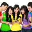 Group of Teenage Friends — Stock Photo