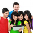 Foto Stock: Group of Teenager Friends