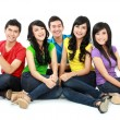 Stok fotoğraf: Group of Teenager Friends